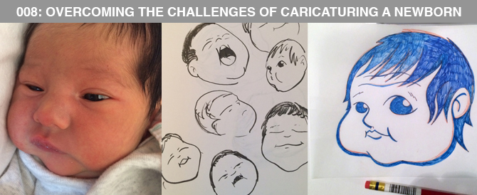 008: Overcoming the Challenges of Caricaturing a Newborn