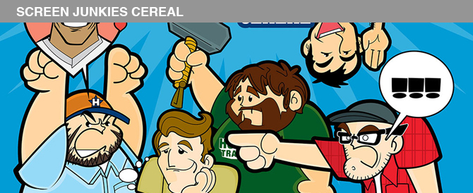 So I did caricatures of the Screen Junkies crew (no biggie)!