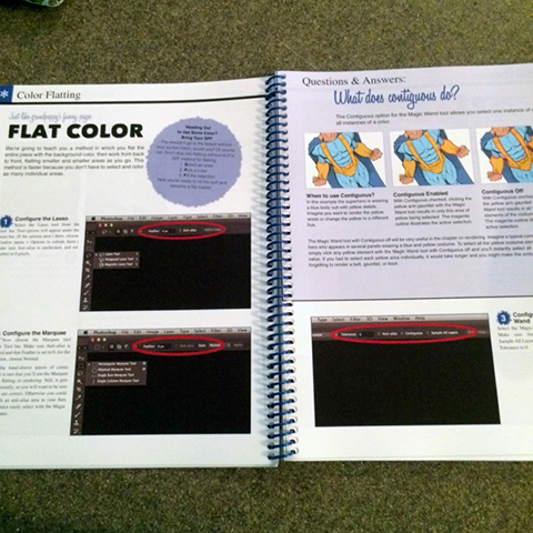This section explains the flatting process and also gives you downloadable tutorials.