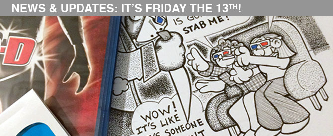 News & Updates: It's Friday the 13th!